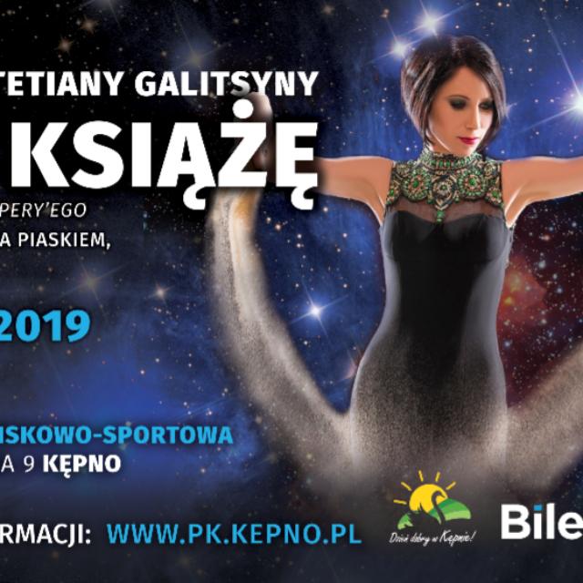 """Teatr Piasku Tetiany Galitsyny """"Mały Książę"""" w Kępnie"""