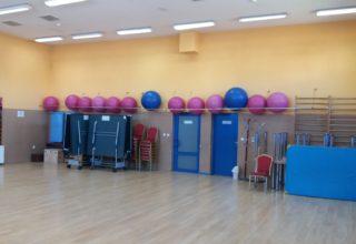 Sala gimnastyczno-sekcyjna
