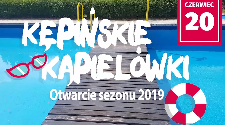 Burmistrz zaprasza na Kępińskie Kąpielówki