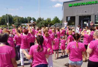 Charytatywny Bieg na Szpilkach na terenach Spółki Projekt Kępno