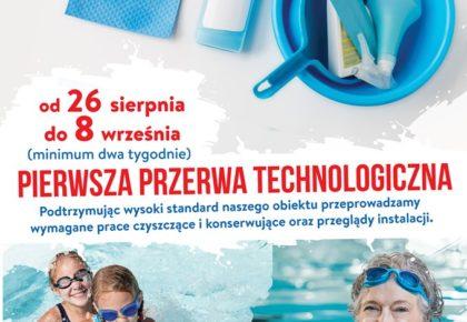Pierwsza przerwa technologiczna oraz promocja cenowa dla dzieci i seniorów