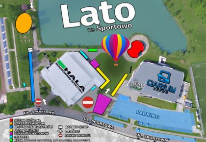 """Lato na Sportowo 2019"" – 07.09.2019r.(sobota), START – godz. 13.00"