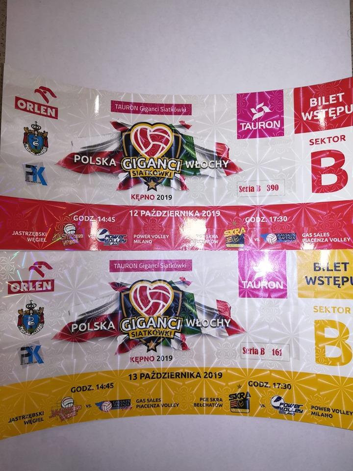 Sprzedaż biletów na Turniej Giganci Siatkówki