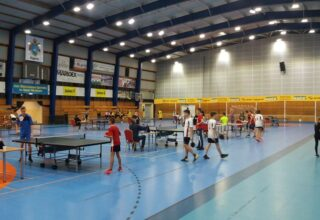 Rozgrywki tenisa stołowego na etapie Gminnym