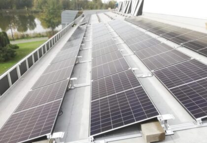 Montaż odnawialnego źrodła energii w postaci ogniw fotowoltaicznych