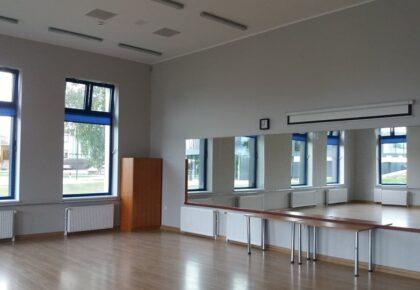 Szukasz sali dla ćwiczeń ? Nasza salka gimnastyczno-sekcyjna spełni oczekiwania wielu osób