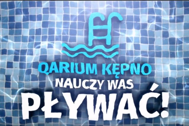 Nauka pływania w Qarium
