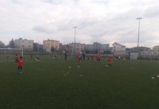 Zgrupowanie piłkarskie na kępińskich obiektach