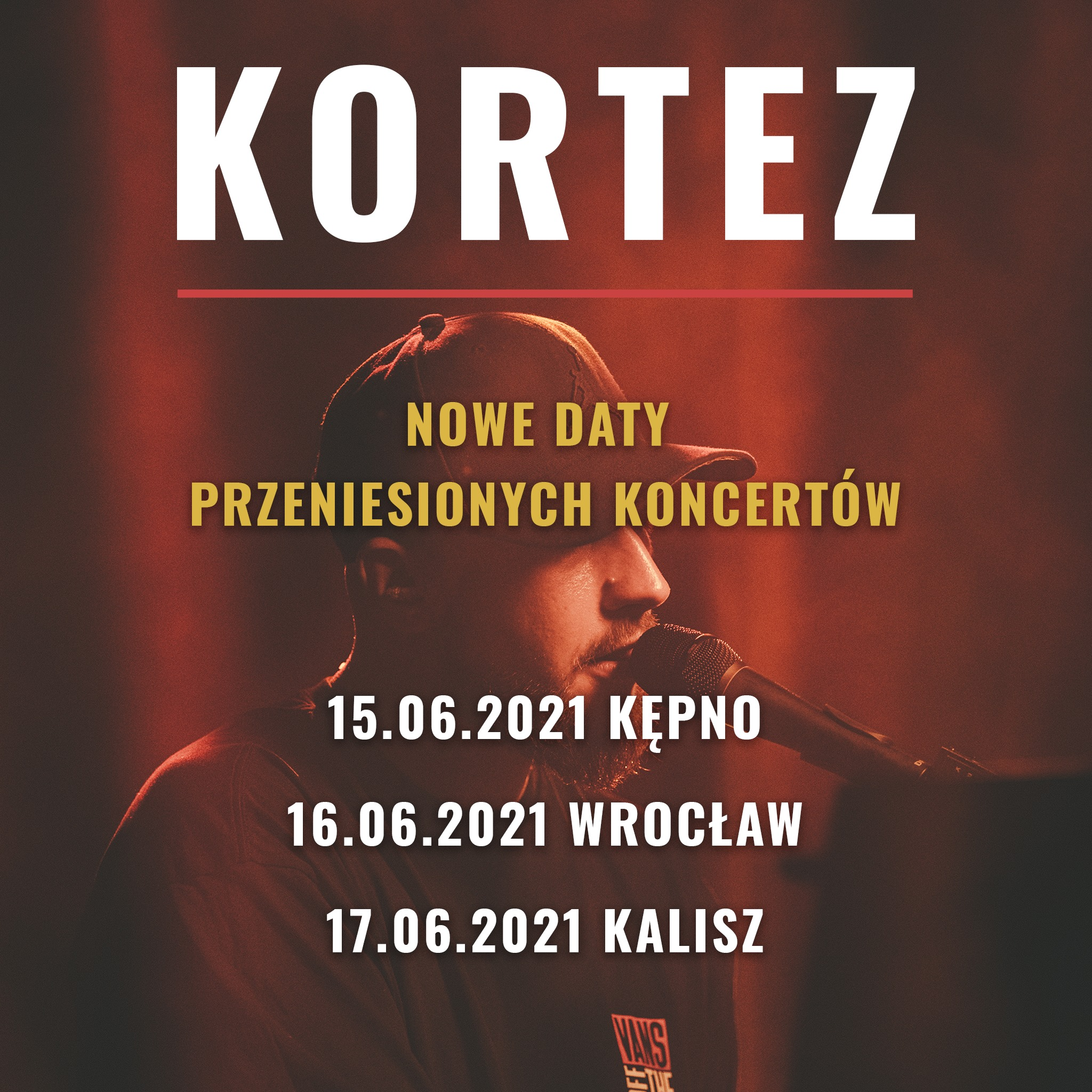 Nowa data przeniesionych koncertów Korteza