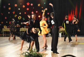 Turniej tańca w hali widowiskowo-sportowej w Kępnie